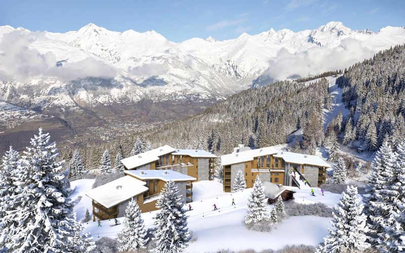 Les Arcs accommodation chalets for sale in Les Arcs apartments to buy in Les Arcs holiday homes to buy in Les Arcs