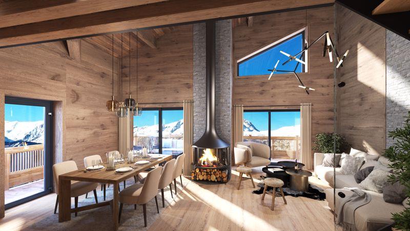 Les Chalets Du Golf - 3 Bed Accommodation in Alpe d'Huez