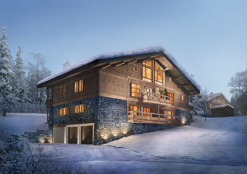 Stallion - 2 Bed Accommodation in Megeve