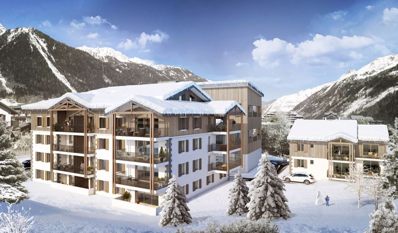 The White Pearl - 3 Bed Accommodation in Chamonix