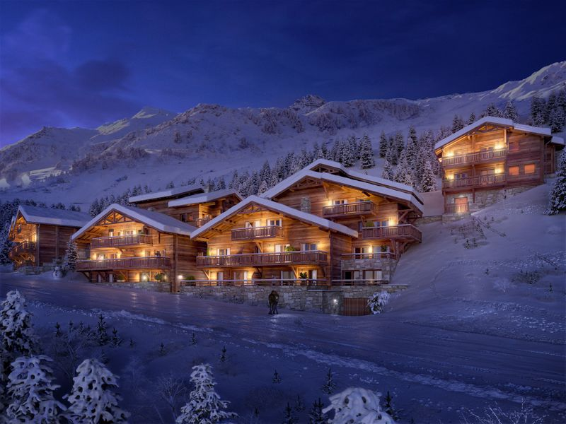 So Pure - 3 Bed+cab Accommodation in Meribel