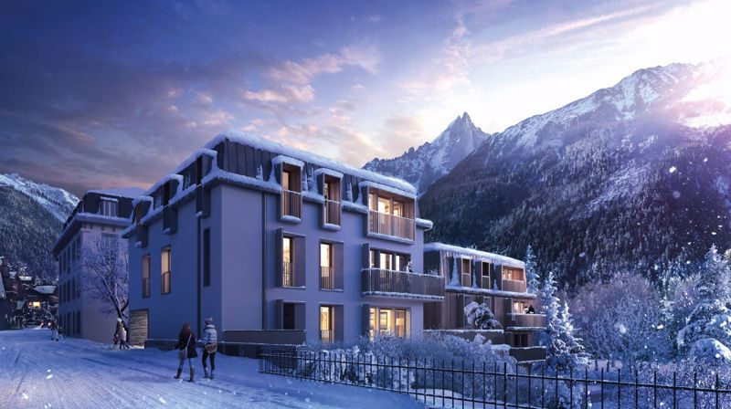 Helium - 3 Bed Accommodation in Chamonix