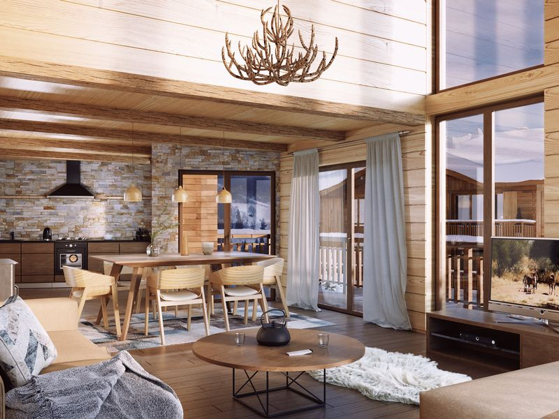 Premieres Loges - 1 Bed Accommodation in Combloux