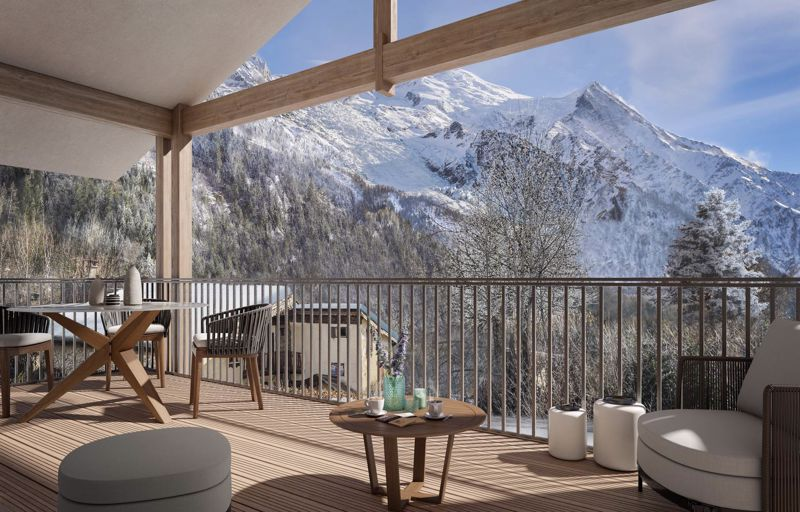 The White Pearl - 3 Bed+cabin Accommodation in Chamonix