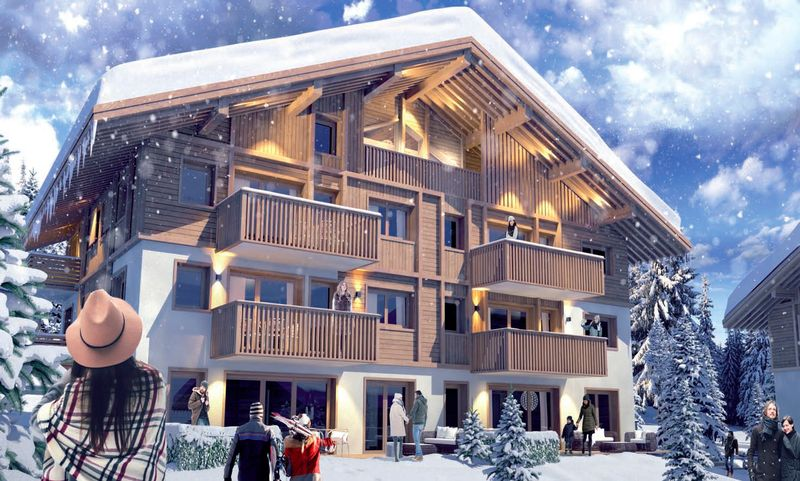 Silver Lodge - 2 Bed Accommodation in Megeve