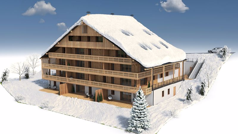 Ferme de Suzanne - 4 Bed  Accommodation in Chatel
