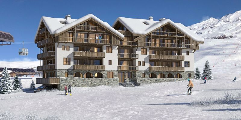 Lac Blanc - 2 Bed+cab Accommodation in Les Deux Alpes