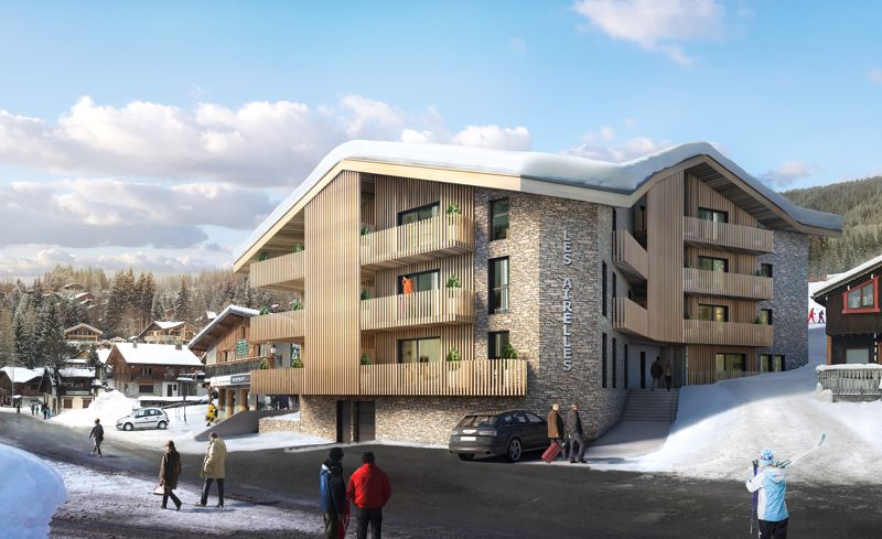 Residence Les Airelles - 2 Bed Accommodation in Les Carroz
