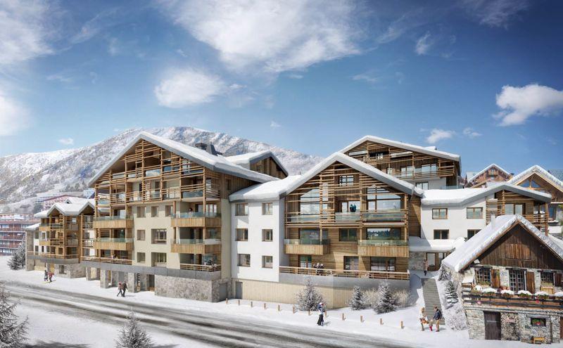 Les Fermes de l'Alpe - Studio Accommodation in Alpe d'Huez