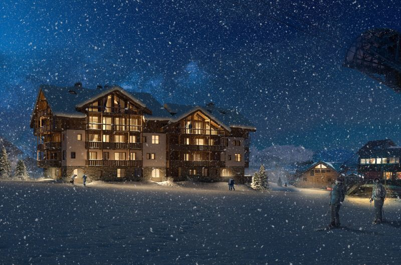 Lac Blanc - 1 Bed Accommodation in Les Deux Alpes