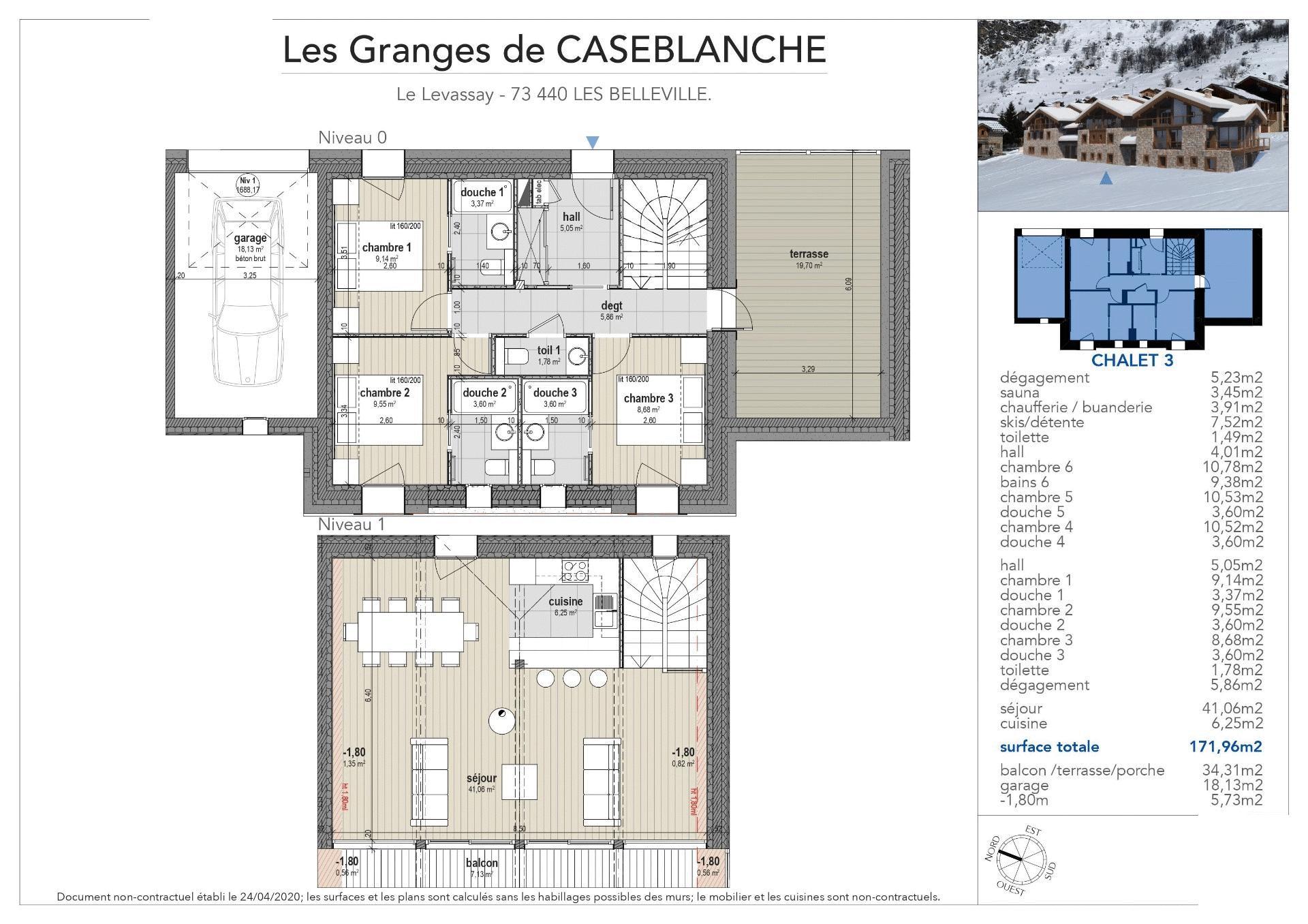 Photo of Granges de Case Blanche - 6 Bed