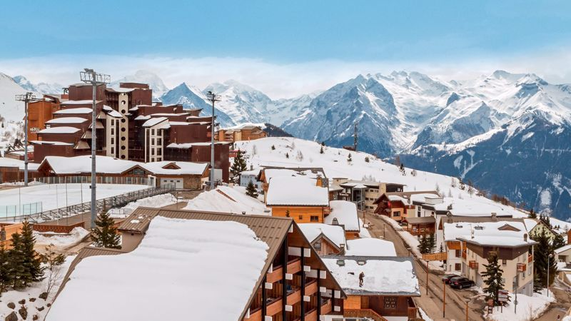 Ours Blanc - 2 Bed Accommodation in Alpe d'Huez