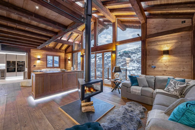 Lachat - 6 Bed Accommodation in Megeve