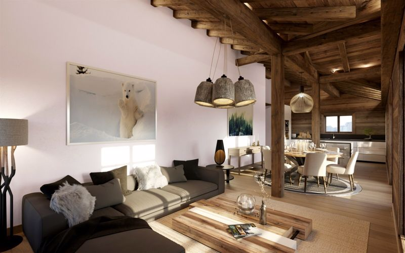 Tourmaline - 3 Bed Accommodation in Megeve