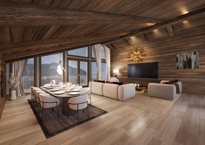 Serenity - 4 Bed  Accommodation in Chatel