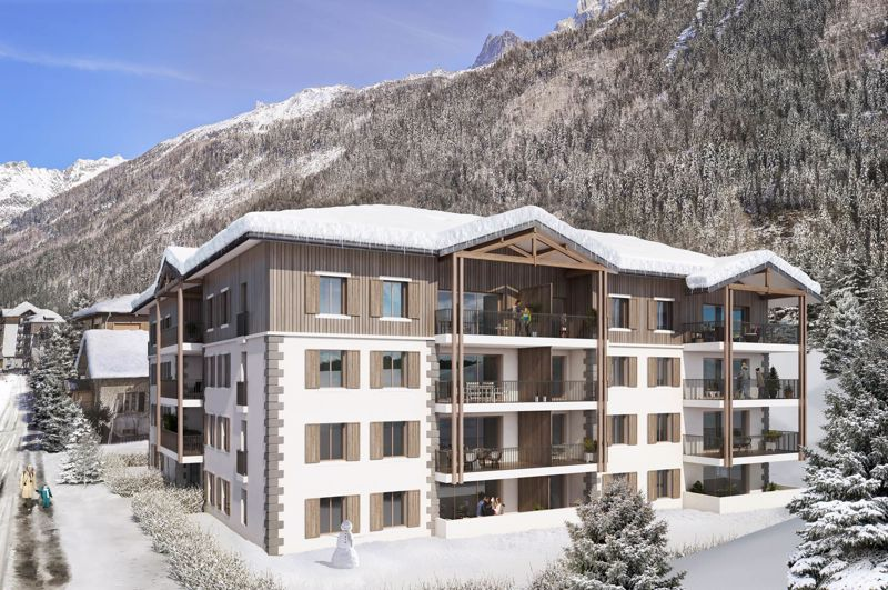 The White Pearl - 1 Bed Accommodation in Chamonix