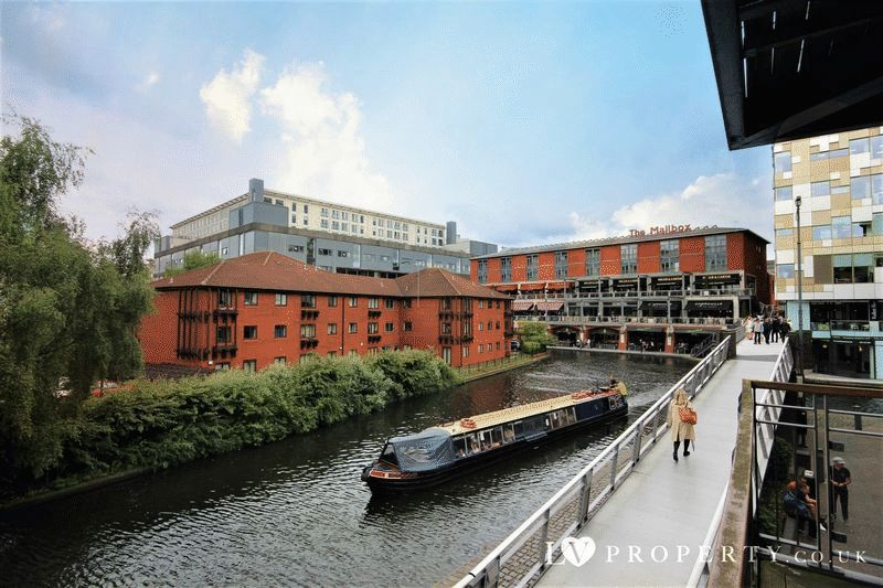 2 Bedrooms Property for rent in Mailbox, Canal Wharf Apartments Birmingham City Centre