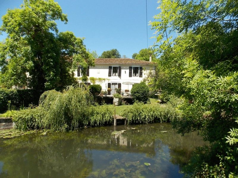 Sympathetically renovated  water mill with gites