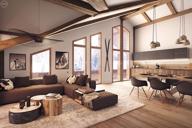 Le Flocon Blanc (3 bed), Chatel Chalet in Chatel