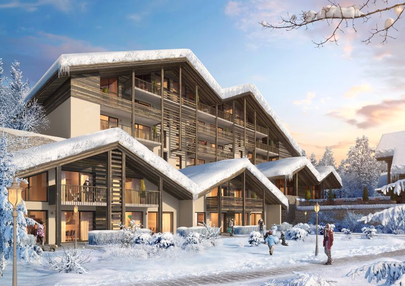 Les Roches Blanches (4 bed), Combloux  Accommodation in Combloux