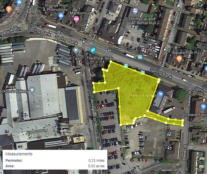 (Former Government Building Site), Spring Bank, Hull, East Riding Of Yorkshire, HU3 1LP