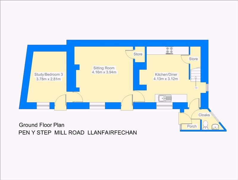 Pen y step mill road llanfairfechan layout1