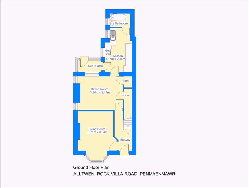 Alltwen rock villa road penmaenmawr layout1
