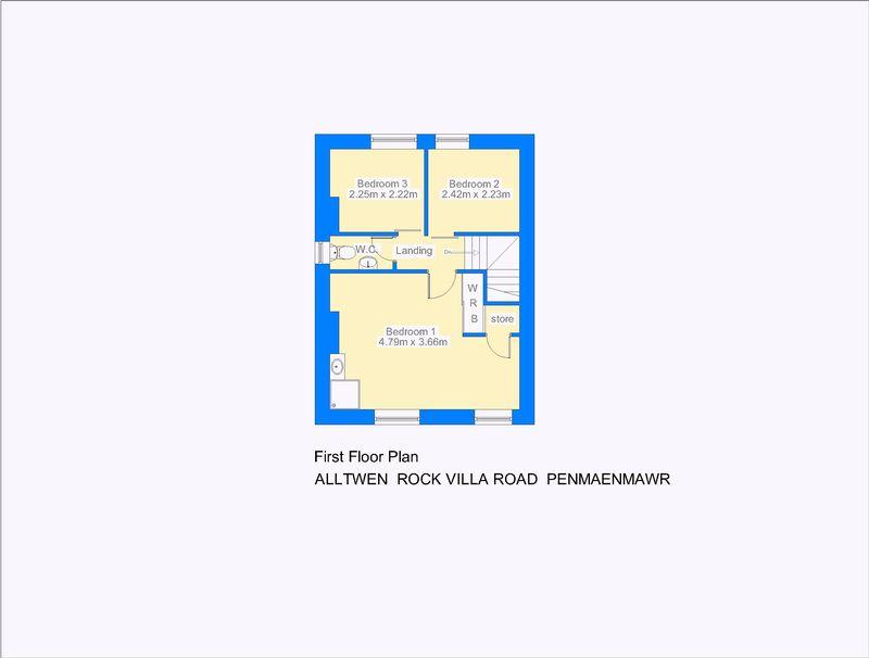 Alltwen rock villa road penmaenmawr layout2