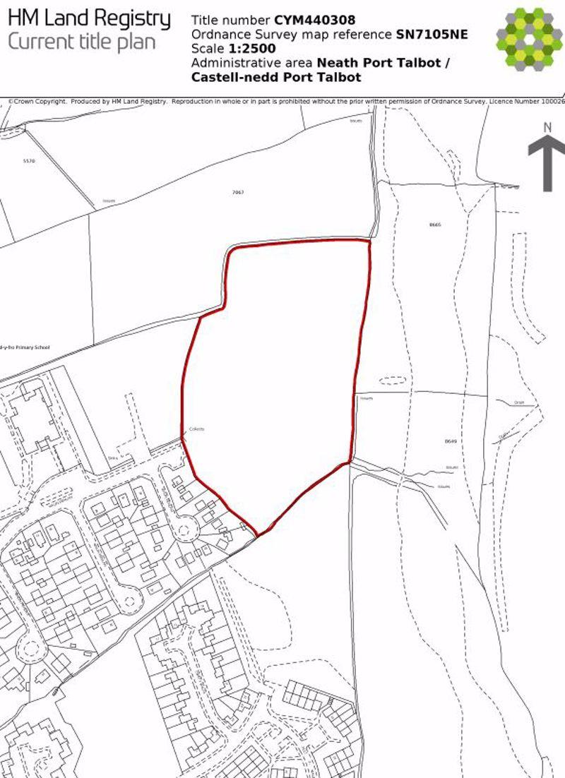 Potential Building Land, Waun Penlan, Pontardawe