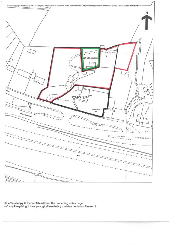 Potential Building Land adjoining Former Oaktree Park Hotel, Birchgrove Road, Swansea