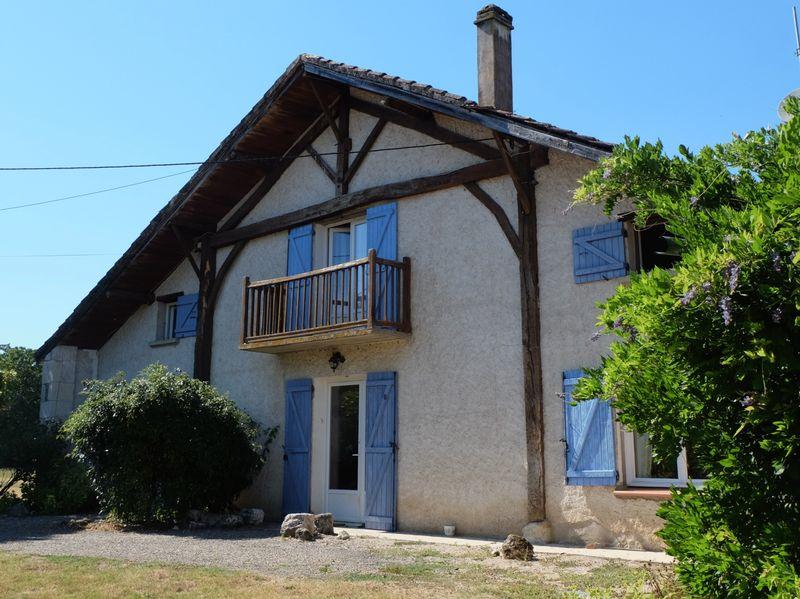 Spacious French farmhouse with two gites