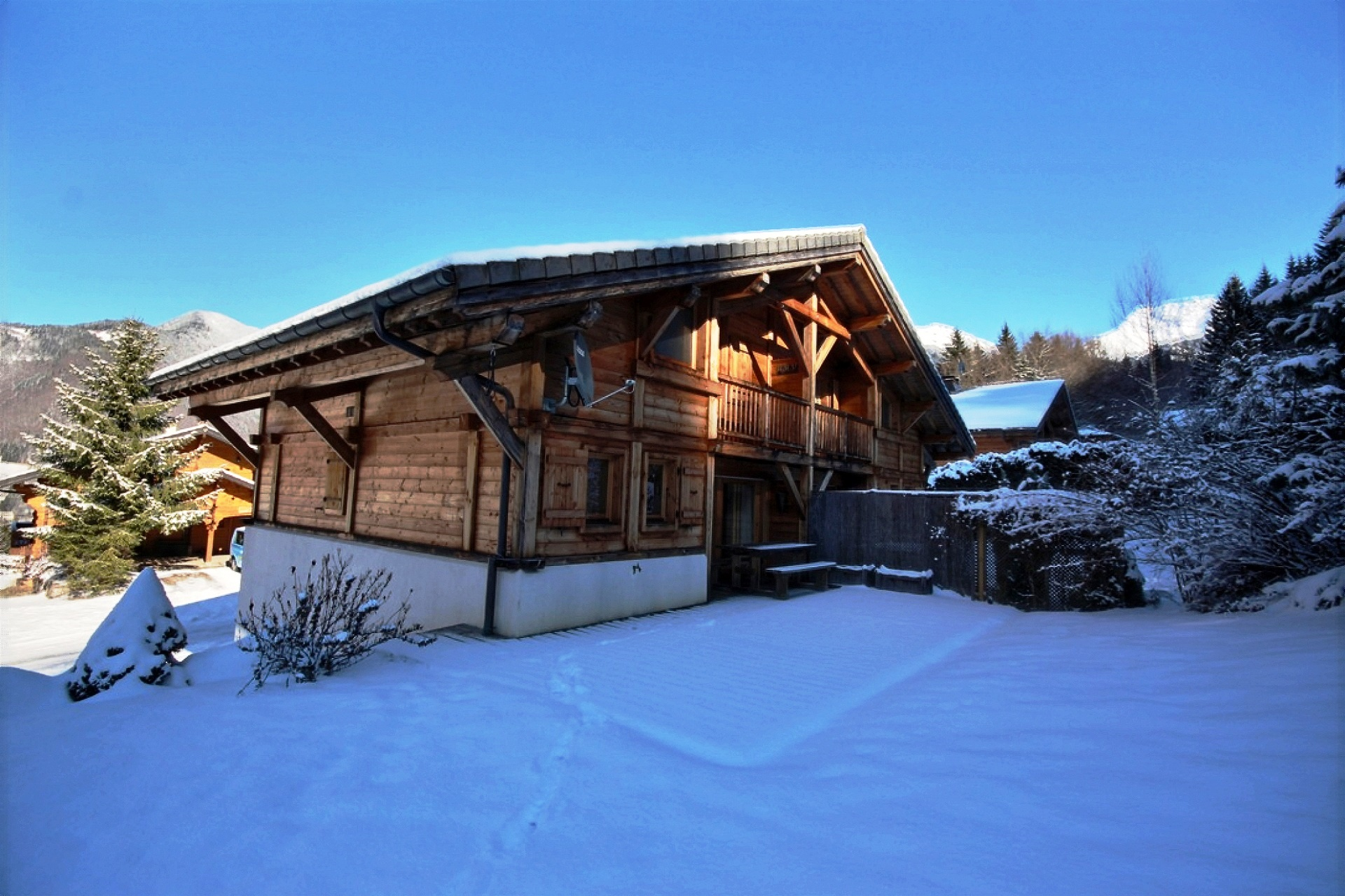 Chalet near Skiing in St Jean d Aulps'