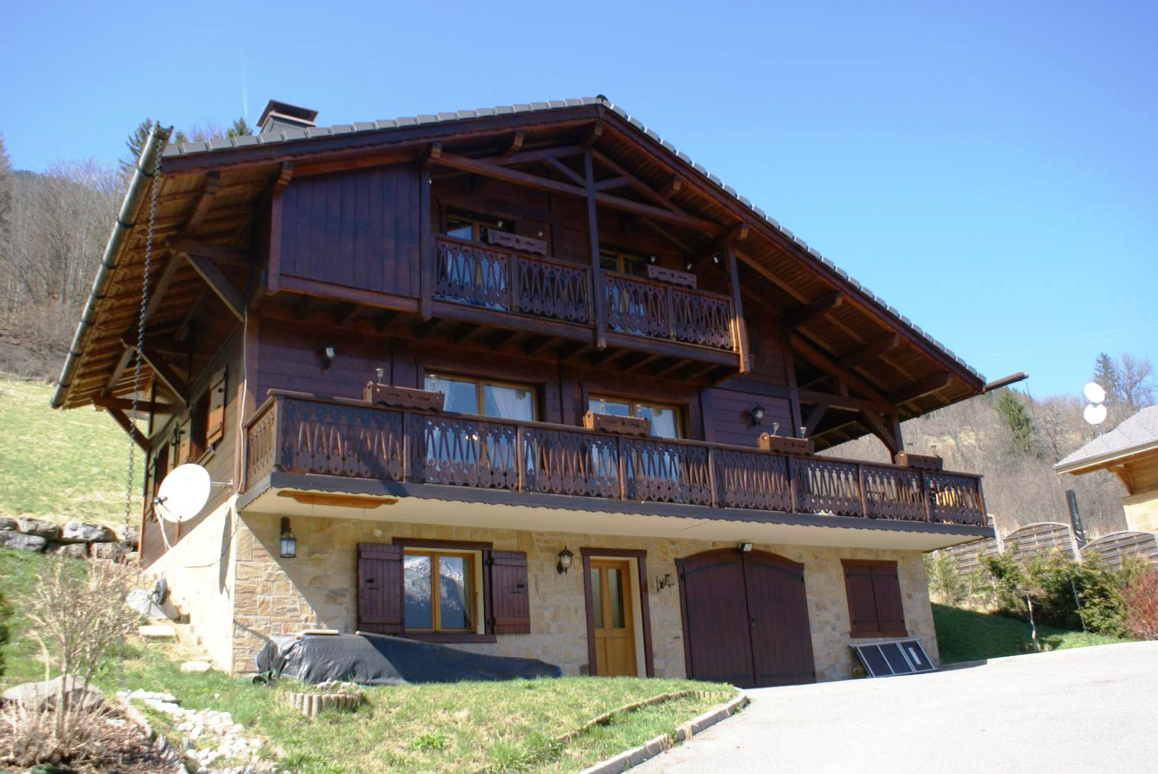 Large, well built chalet