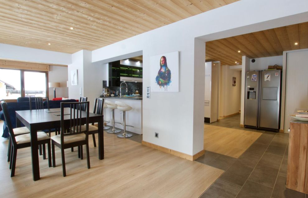 Large Modern Apartment in La Chapelle d'Abondance'