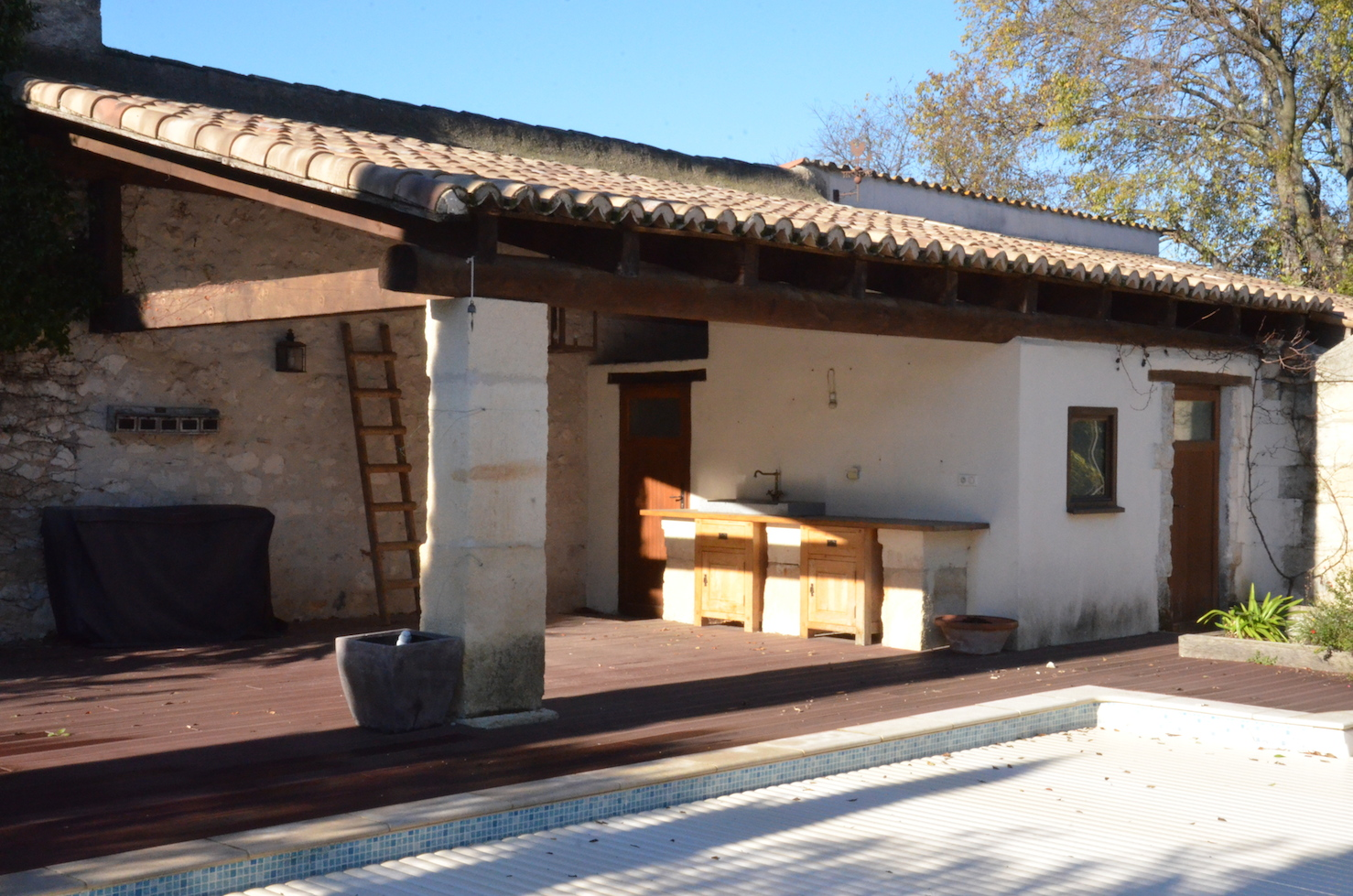 Renovated Stone Property with Garden and Pool  for sale herault