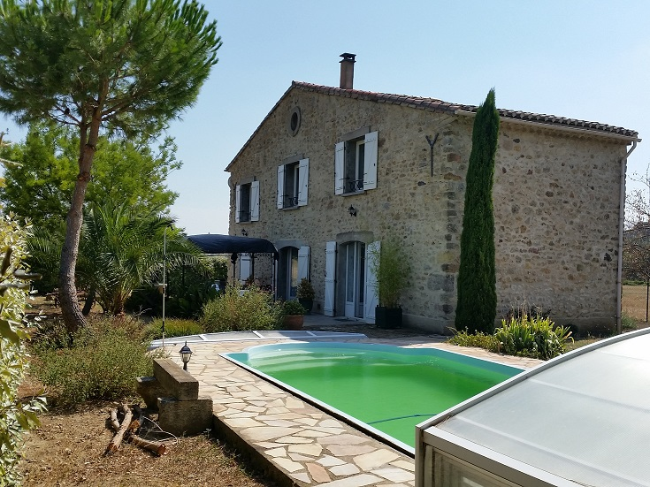 Stone house in countryside for sale Herault