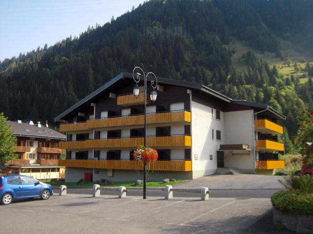 Apartment in Chatel near Lake Vonnes'