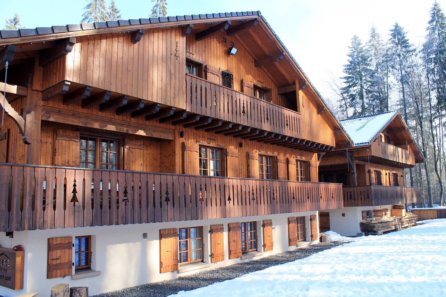 Magnificent Chalet in Morillon'