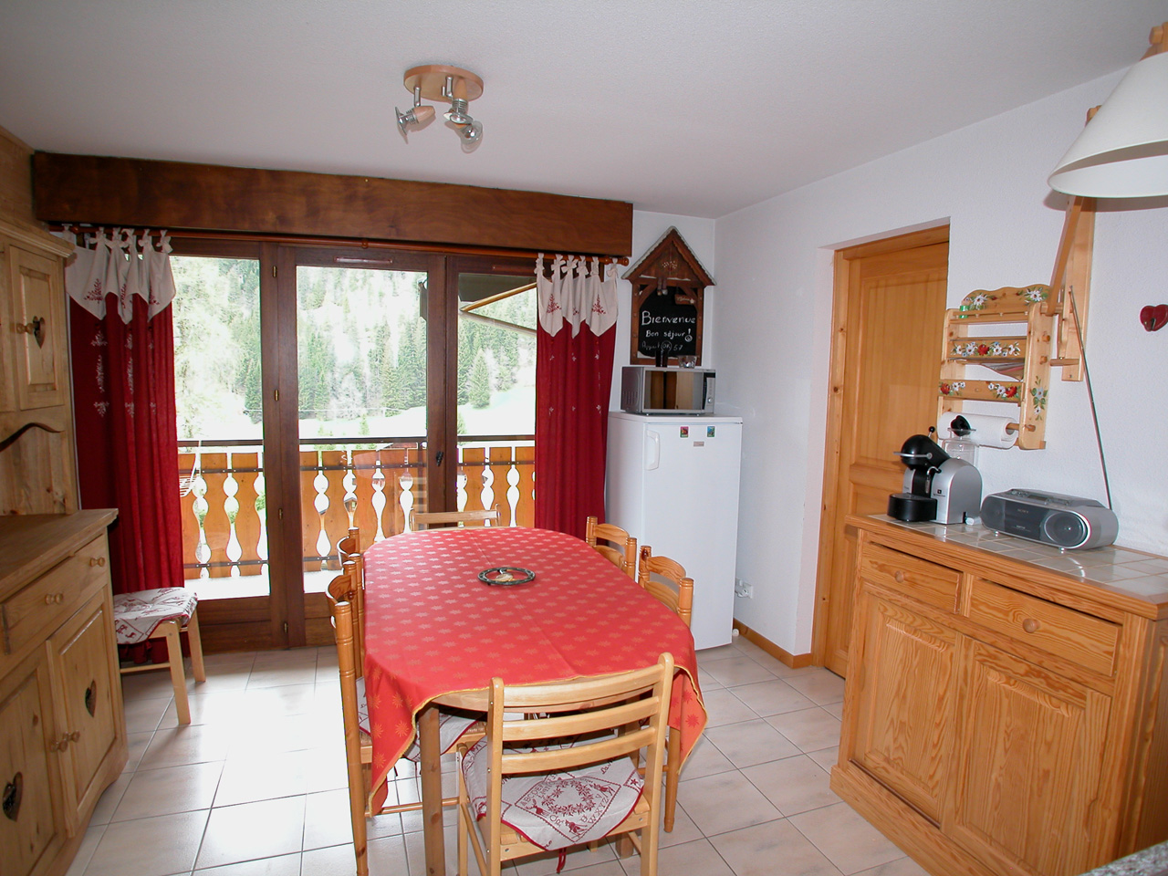 Apartment in Chatel'