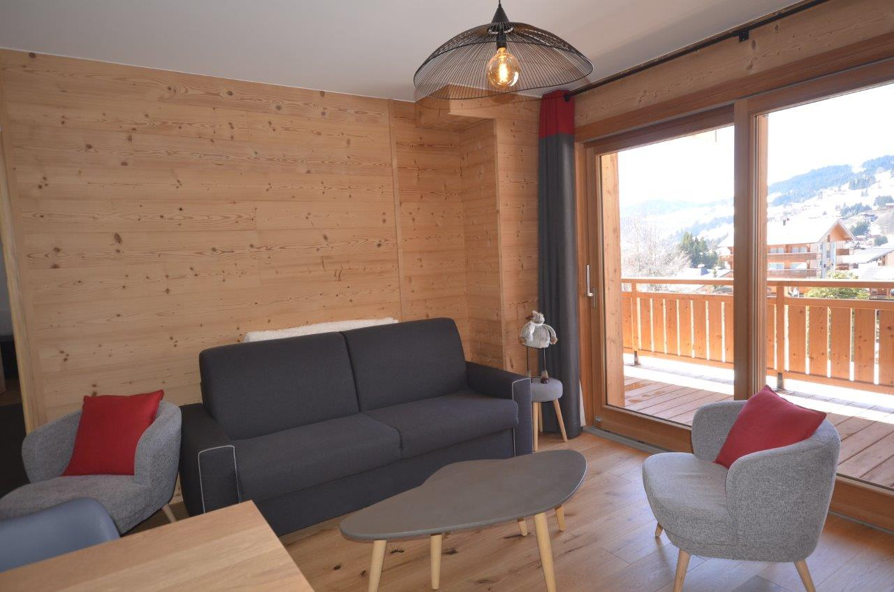 New Ski in Ski out Apartment in Les Gets'