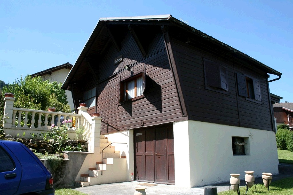 Furnished chalet in Morillon'