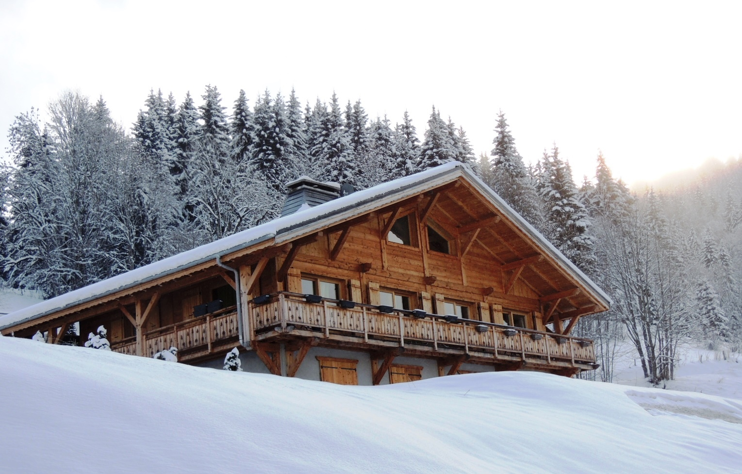 Recent Ski-in Chalet in Les Gets'
