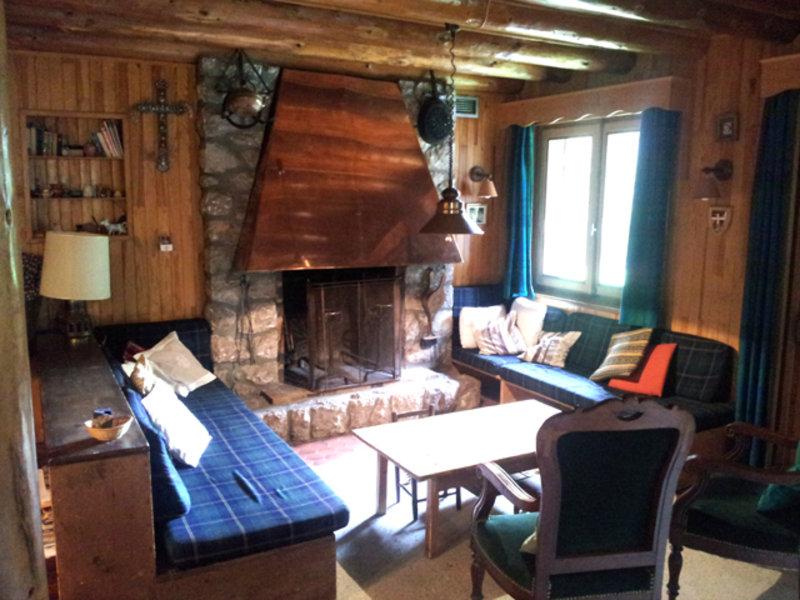 Chalet Bonnevaux living area