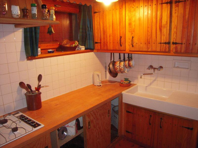 Chalet Bonnevaux kitchen