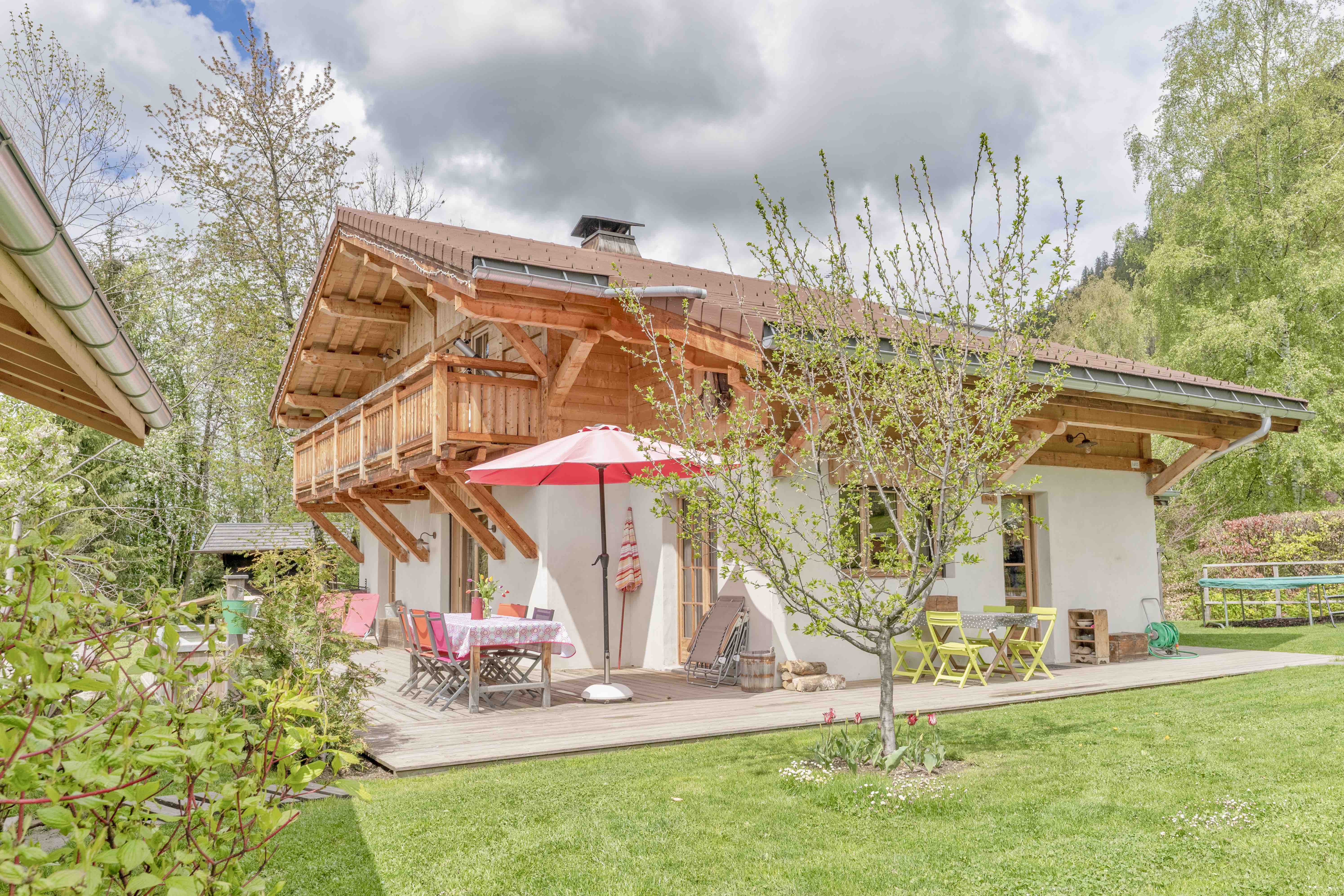 Beautiful spacious 3 bed chalet in St Gervais'