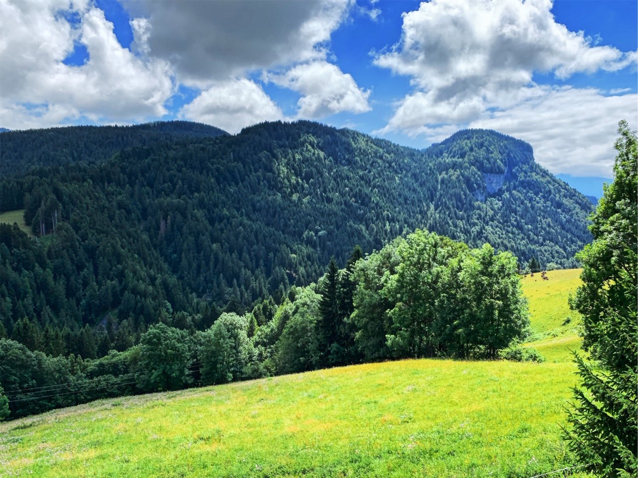 View to Rocher du Mais