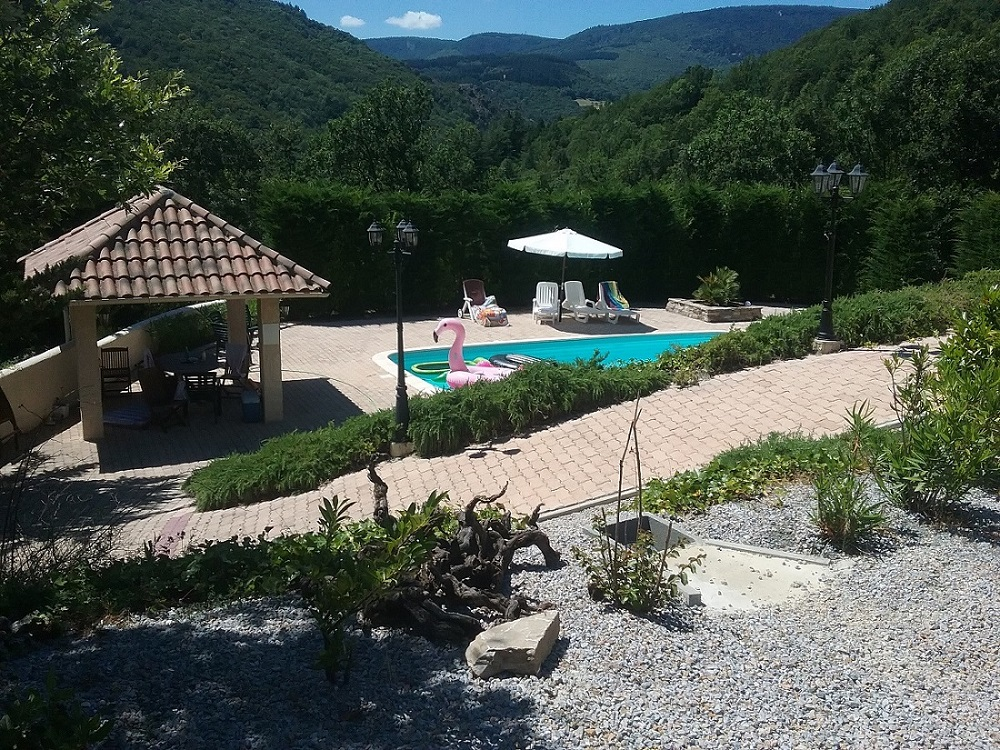 House and Gite with Heated Pool and Views'