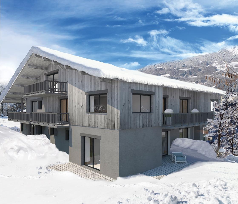 New Apartment in Renovated Farm in Morillon'