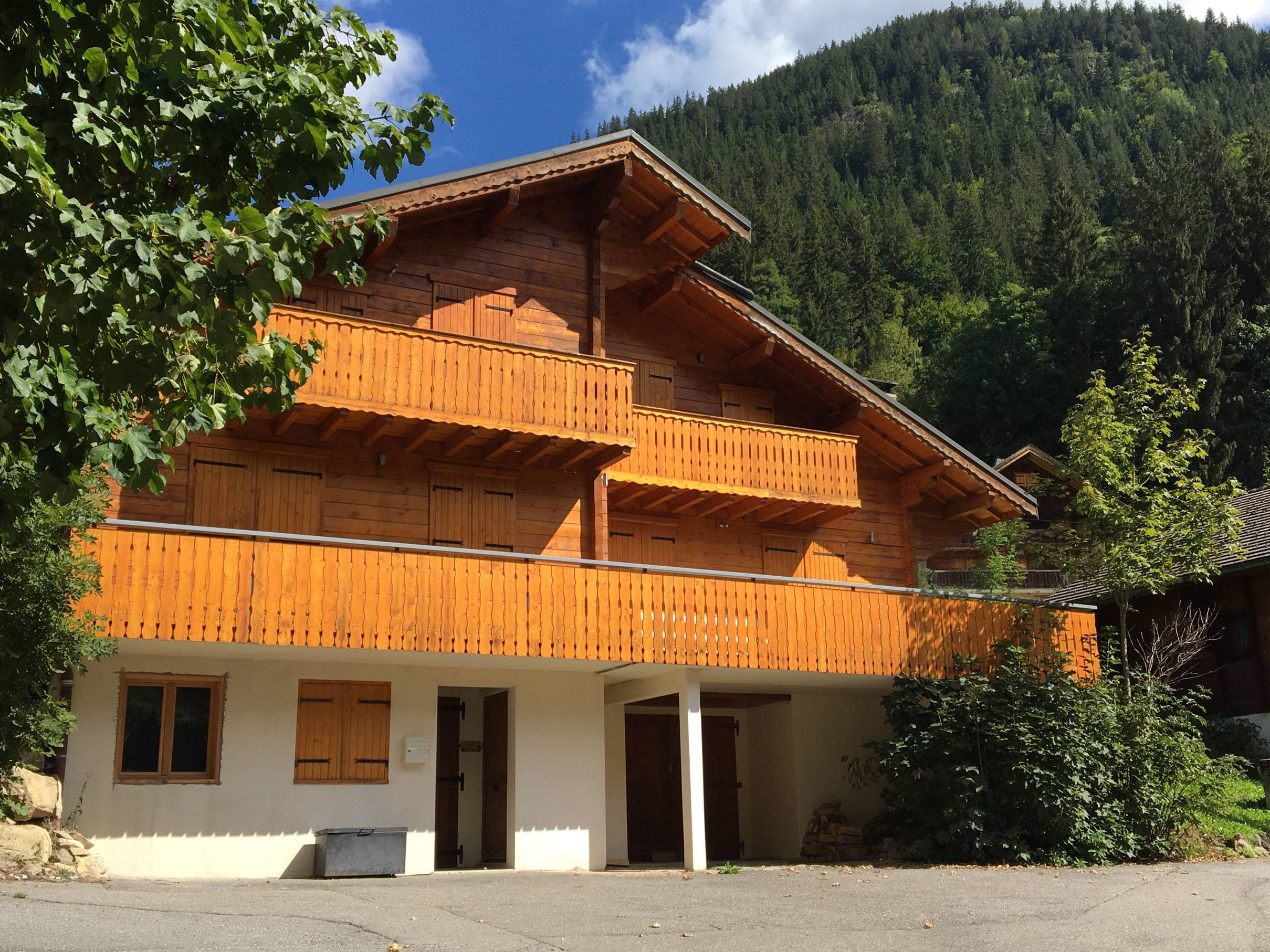 Spacious Chalet in La Chapelle d'Abondance'