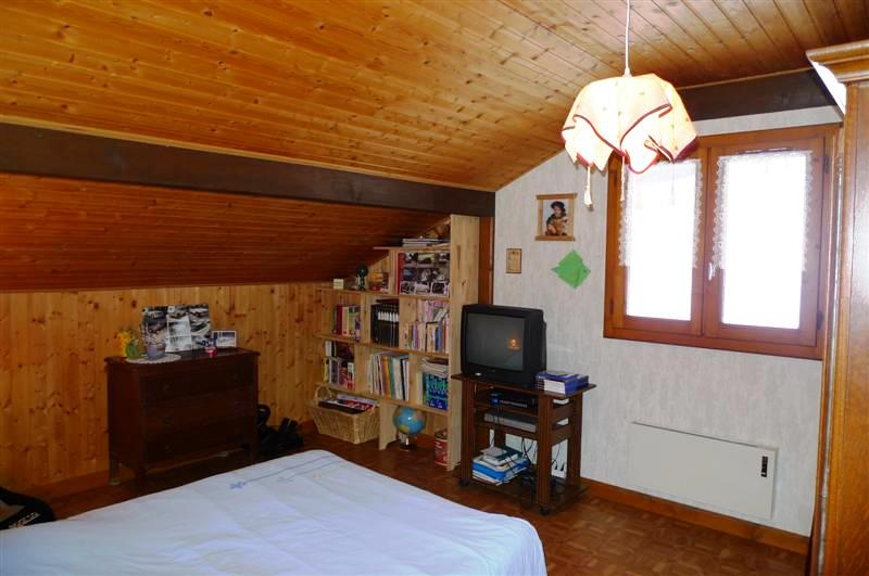 Le Biot chalet - one of the bedrooms